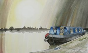 Nickis Boat 25th July 2012 by John Lowerson