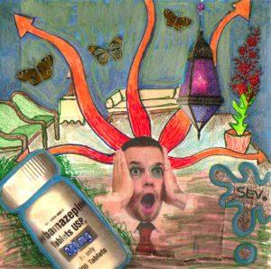 Nightmare With Butterflies by John Severino
