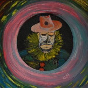 Clown by Miro Tomarkin