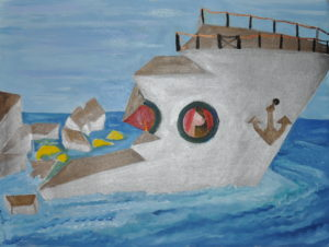 the ship is on course – no need to change direction by Miro Tomarkin