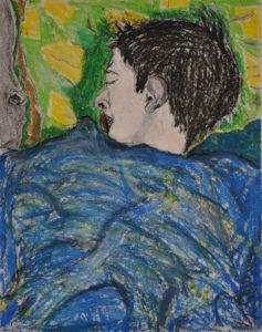 sleeping Eli by Miro Tomarkin