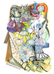 No Room! No Room! by Marianne Sturtridge