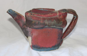 Non-functional Teapot One by Hannah Swain