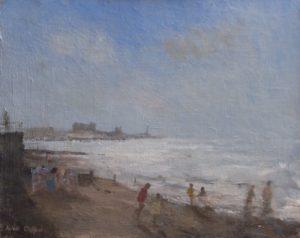 North Beach nr 'Consti' by AVERIL CLIFFORD REES