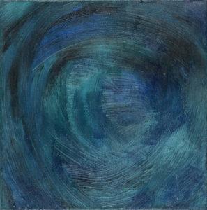 Ocean Swirl 1 by vanessa clark