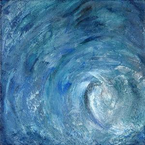 Ocean Swirl  2 by vanessa clark