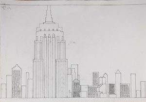 The Empire State Building by Philip