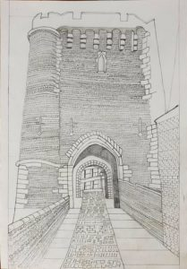 Lewes Castle by Philip