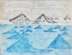The Vatnajokull Glacier by Philip