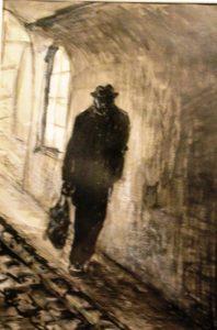 Old man in Prague by Maruska