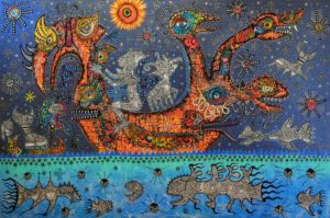 On the birdboat to Nacada by greg bromley