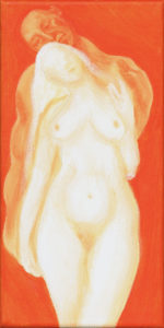 Orange Nudes by Psycho Flea