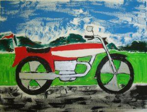 Motor Biking by Tony Thomas