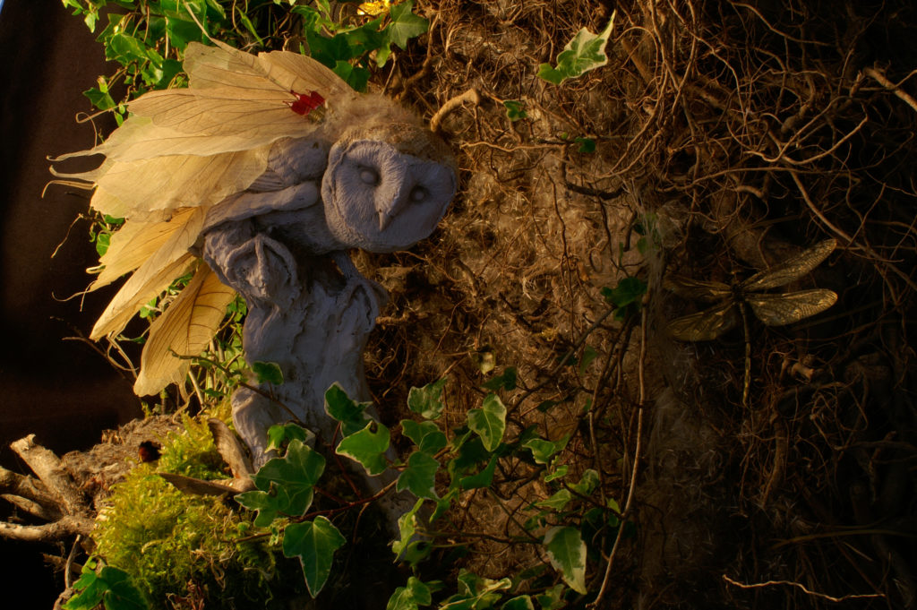 33117 || 2275 || 'Make and Mend' Series - 'rare leafy owl specimen' || NFS || 4642