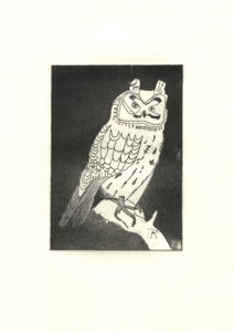 Owl 1 by Tree Frog