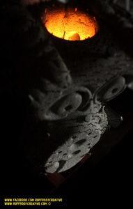 Eule Licht III by ruffrootcreative