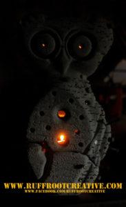 Eule Nächte Licht by ruffrootcreative