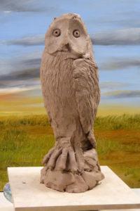 Ceramic Owl by William Phillips