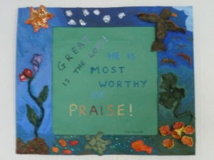 Praise by Forest pool