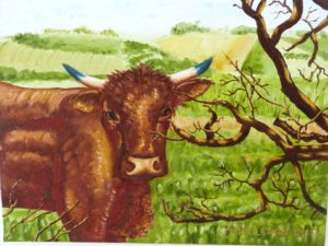 Sussex Country Bull by CurcioArt