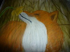 Springtime Fox by Sam Randall