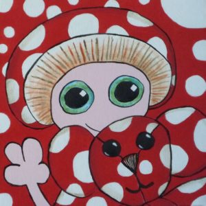 A Little Bit Dotty (After Yayoi) by Christopher Hoggins