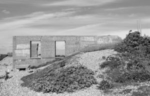 Building behind Browndown camp by William Phillips 2