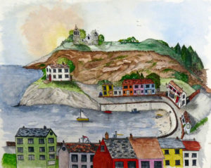 Harbour Scene by Chrissy