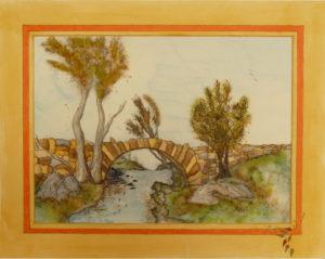 Countryside Bridge by Chrissy