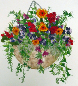 Hanging Basket by Chrissy