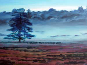 New Forest by abstract landscape