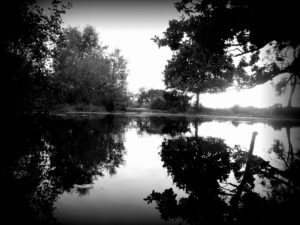 Peaceful Reflection by Isabelle McGowan