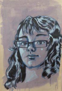 Bluescape Portrait by Lyeekha