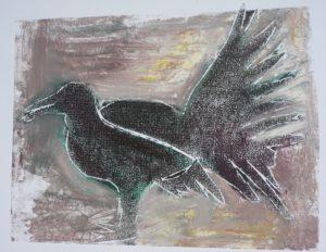 Fan Tailed bird by Arty