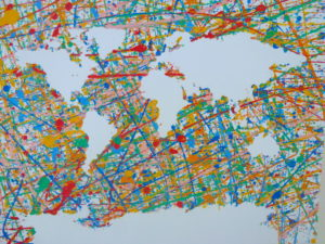 Colourful world by Isabelle McGowan
