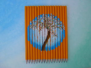 Pencil Tree by Isabelle McGowan
