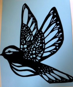 Delicate Bird by Isabelle McGowan