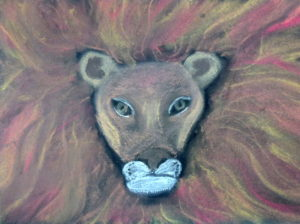 Lion by Isabelle McGowan