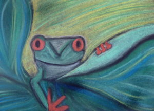 Cheeky Frog by Isabelle McGowan