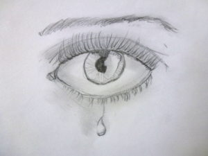 Weeping Eye by Isabelle McGowan