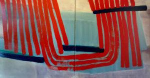 Kaapa (diptych) by Gavin Blench