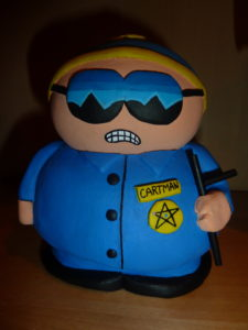 Cartman: Respect my authority by Jason Andrews
