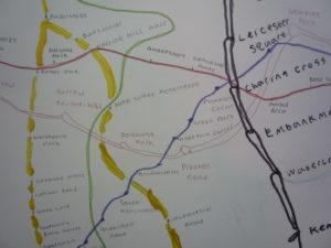 TFL Map II by Wayne McGregor