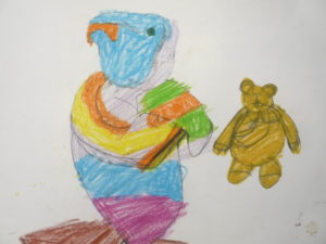 Parrot and the Teddy by Selina Assan-Sackey