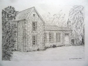 The Old School House (Innerpeffray) by Derek Thomason