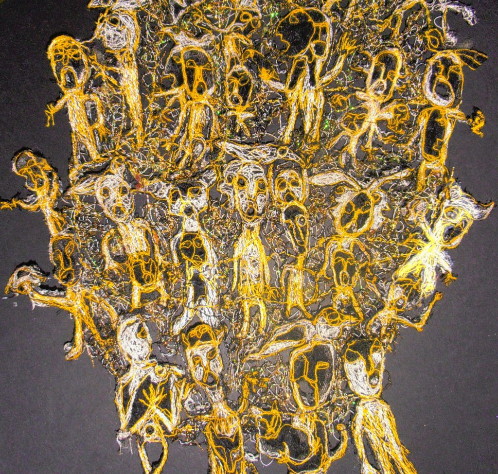 22552 || 1083 || Asvatha Samsara 2 (Tree of the universe) 2014 (detail) ||  || 2200