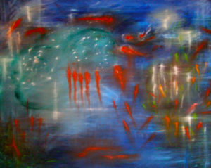 The Pond (c) Copyright Kate Lomax All Rights Reserved by Kate Lomax