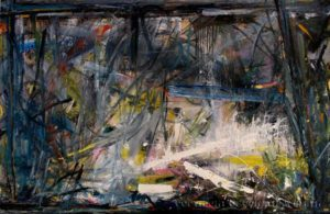 'Painting 4 (Driving Past a Scottish Loch)'  2004 by Jonathan Peter Smith