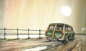 Park the car at the side of the road.. by John Lowerson