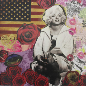 Monroe Collage by paul malone